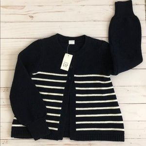 Baby Gap Striped Cardigan Size 5 Msrp $39.95